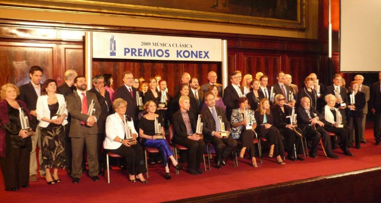 Acto Culminatorio de los Premios Konex 2009: Música Clásica