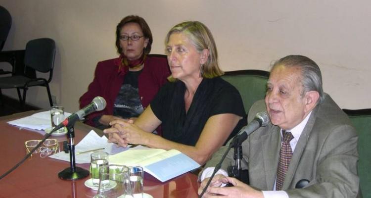 María de Jesús Bruxó, María Casado y Salvador D. Bergel