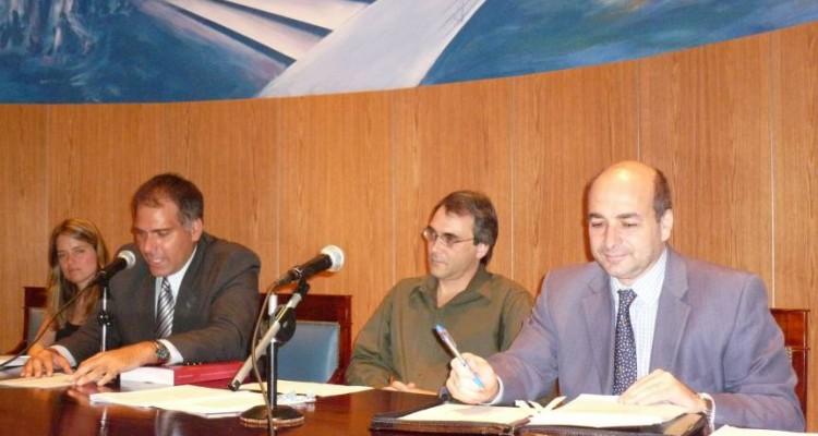 Patricia Lobato, Calógero Pizzolo, MarianoLiszczynski y Alejandro Tullio