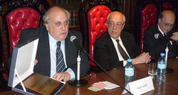 Oscar Ameal, Atilio Alterini y Miguel Ángel Ciuro Caldani