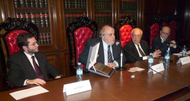 Elian Pregno, Oscar Ameal, Atilio A. Alterini y Miguel Ángel Ciuro Caldani
