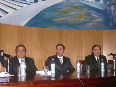 Arístides Corti, Pablo Gallegos Fedriani, Juan Gustavo Corvalán, Pablo Garbarino y Eugenio R. Zaffaroni