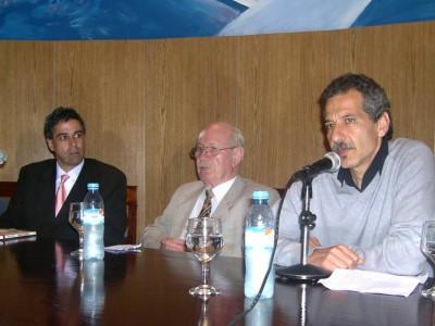Daniel Rafecas, Moisés Borowicz y Daniel Izrailit