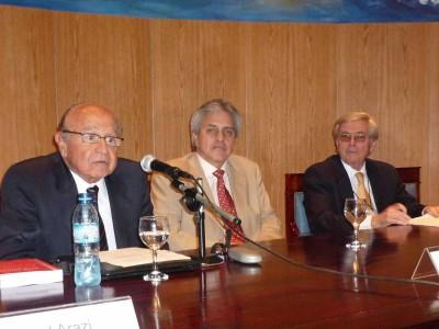 Roland Arazi, Osvaldo Gozaíni y Ángel Landoni Sosa