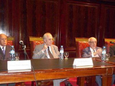 Horacio García Belsunce, Eduardo Barbarosch, Atilio Alterini y Oscar Zoppi