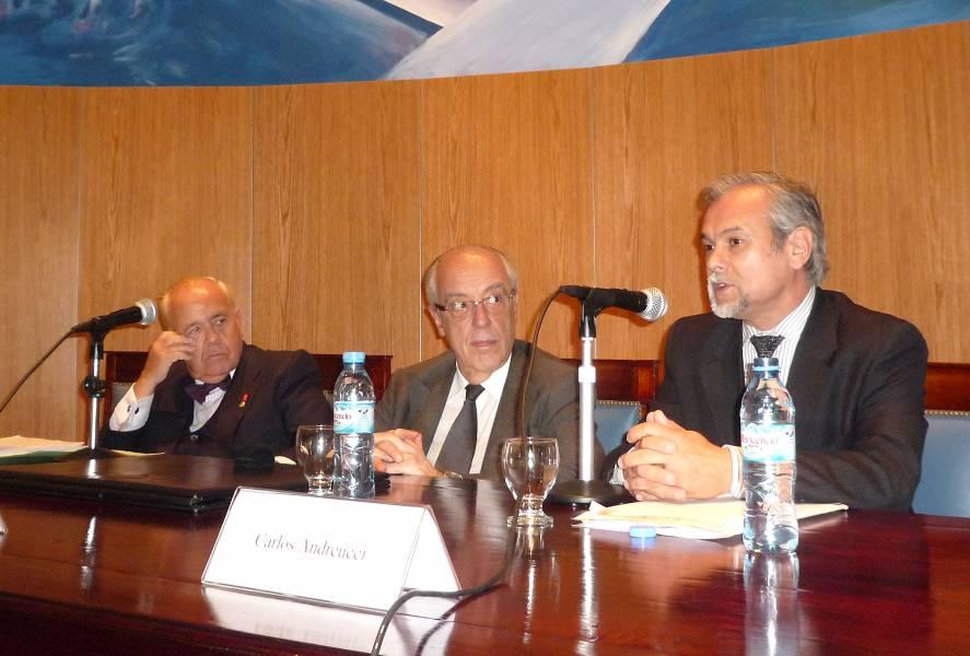Luis Martí Mingarro, Atilio A. Alterini y Carlos Andreucci