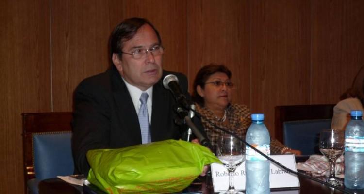 Roberto Ruiz Díaz Labrano y Silvia Rosales