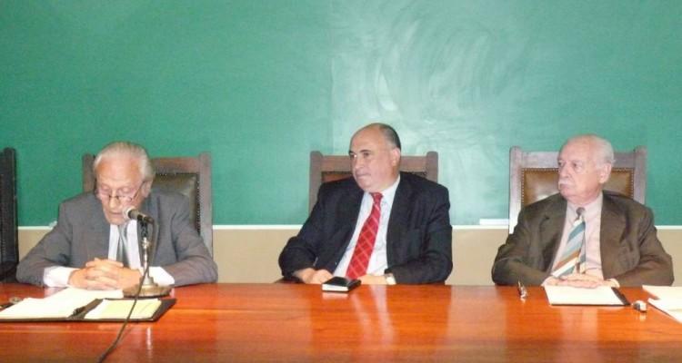 José I. Brito Peret, Jorge García Rapp y Jorge Rodríguez Mancini