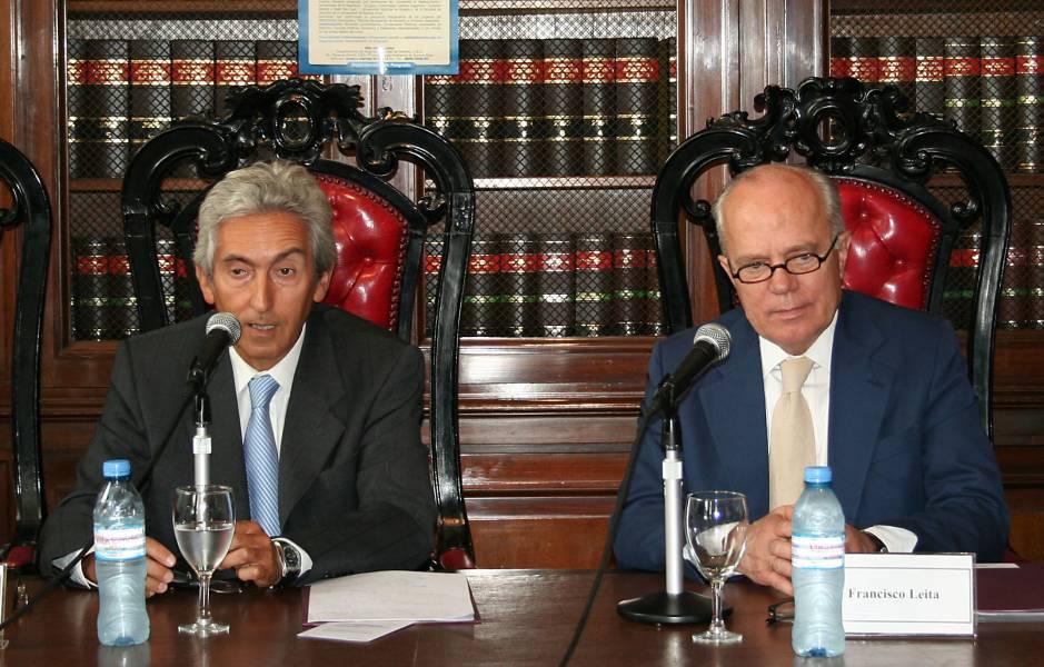 Carlos Correa y Francisco Leita