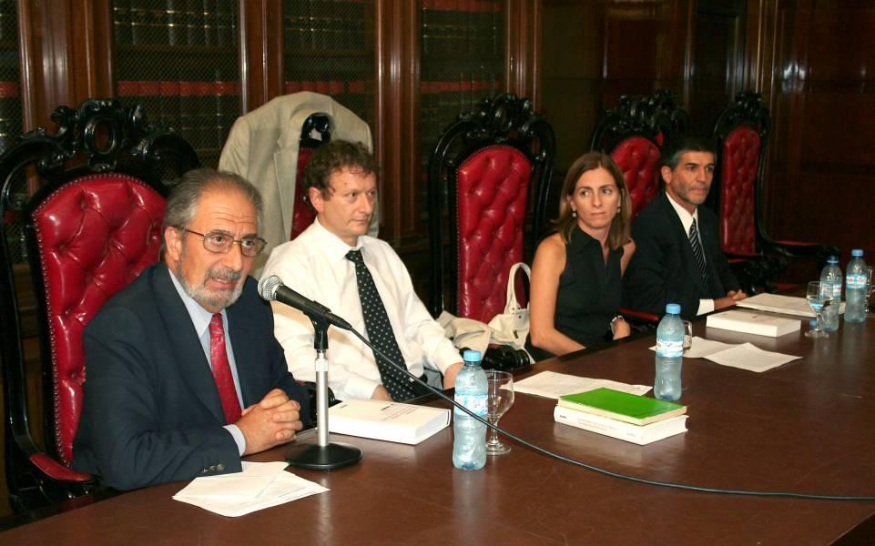 Edmundo Hendler, Leonardo Pitlevnik, Florencia Hegglin y Gustavo E. L. Garibaldi