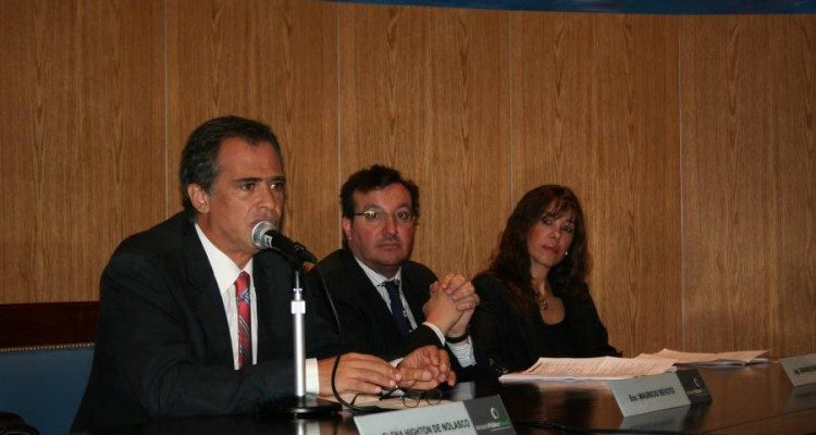 Mauricio Devoto, Gerardo Ingaramo y Claudia Alvaro