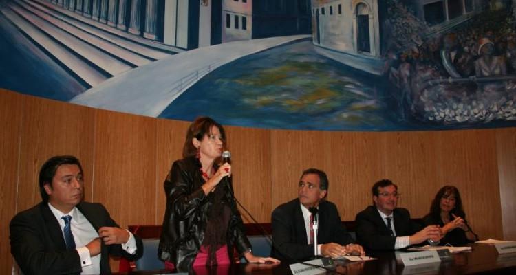 Daniel Presti, Elena Highton de Nolasco, Mauricio Devoto, Gerardo Ingaramo y Claudia Alvaro