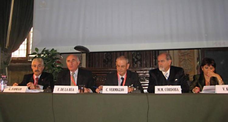 Guillermo Fanego, Fernando De la Rua, Carlo Vermiglio, Marcos M. Córdoba y Viviana Kluger