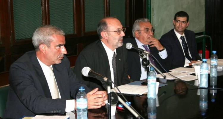 Carlos Tambussi, José Luis Laquidara, Ricardo Nasio y Matías F. Luchinsky