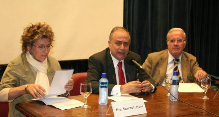 Susana Cayuso, Mario Resnik y Tulio Ortiz