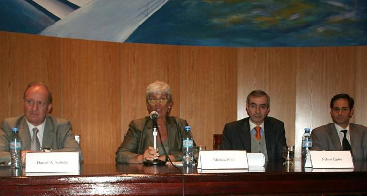 Daniel Sabsay, Mónica Pinto, Nelson Castro y Pablo Manili