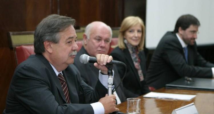 Alberto Dibbern, Rubén Hallú, María María Beatriz Guglielmotti y Carlos Mas Velez