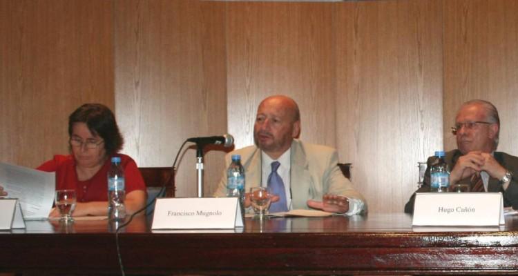 Alcira Daroqui, Francisco Mugnolo y Hugo Cañón