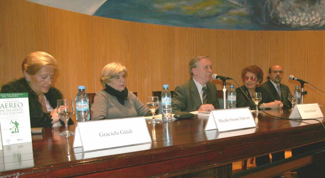 Graciela Güidi, Haydée S. Talavera, Horacio Knobel, Ángela M. Donato y Gonzalo Yrurtia