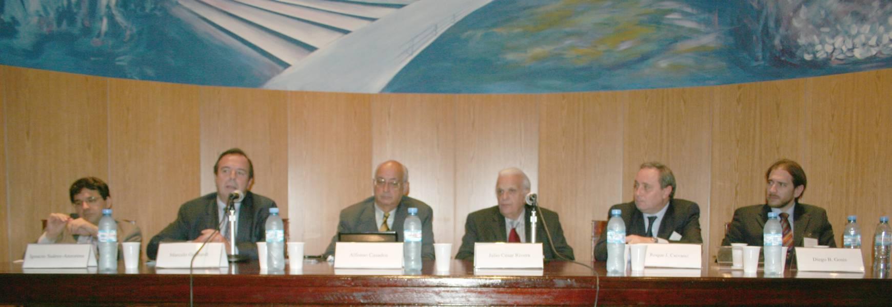 Ignacio Suárez Anzorena, Marcelo Gebhardt, Alfonso Casados, Julio C. Rivera, Roque J. Caivano y Diego Gosis