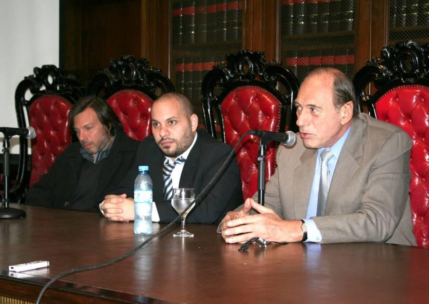 Daniel Ricci, Pablo Qualina y Eugenio R. Zaffaroni