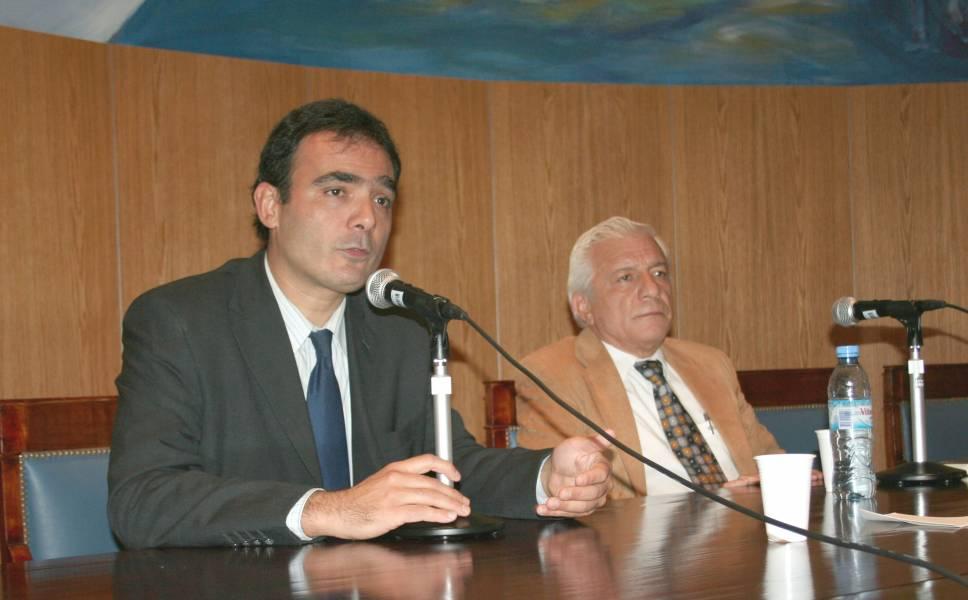 Juan Antonio Seda y Eduardo López Betancourt