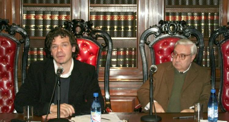 Roberto Gargarella y Ricardo Guibourg
