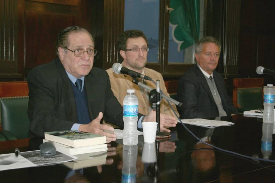 Carlos Elbert, Pablo Eiroa y Adolfo Ceretti