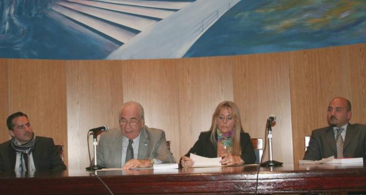 Fernando Machado Pelloni, Carlos A. Chiara Díaz, Norma Isabel Bouyssou y Stefano Pratesi