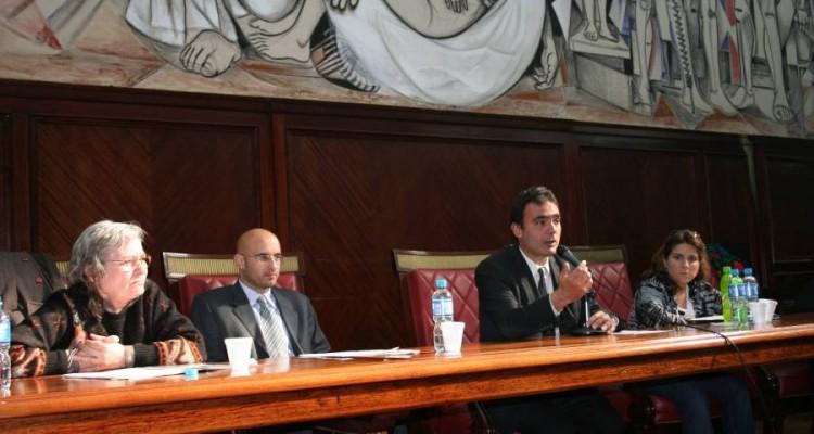 Lucrecia Oller, Federico Garaicoechea, Juan Antonio Seda y Lorena Ranieri