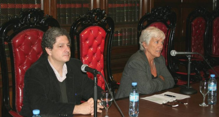 Marcelo Alegre y M�nica Pinto