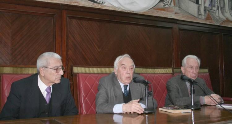 José Rolando Chirico, Roberto Vernengo y Eugenio Bulygin