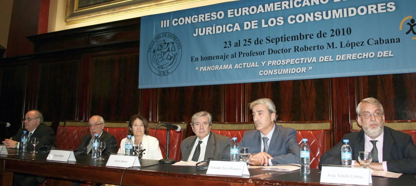 Oscar Ameal, Atilio Alterini, Elena Highton, Alberto J. Bueres, Fernando Toyos Rugarcia y Jorge Tomillo Urbina