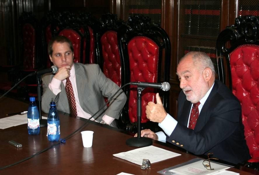Iván Tolnay y Mario Ackerman