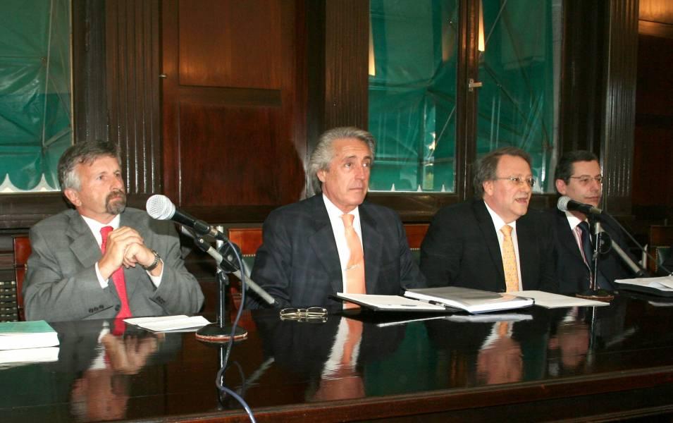 Daniel Truffat, Raúl Aguirre Saravia, Daniel Vítolo, Marcelo Haissiner, Héctor O. Chomer y Marcelo Gebhardt
