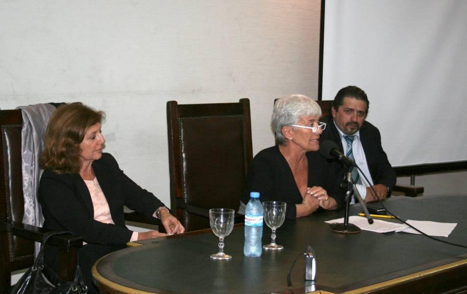 Alicia Husni, Mónica Pinto y Daniel Díaz