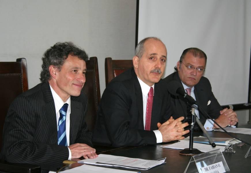 Fabián O. Canda, Guido S. Tawil y Oscar Aguilar Valdez