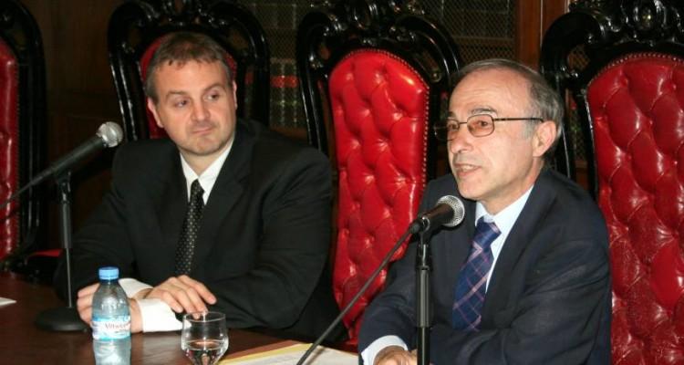 Marcelo Raffin y Gilbert Orsoni