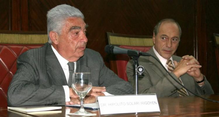 Hipólito Solari Irigoyen y Eugenio Raúl Zaffaroni