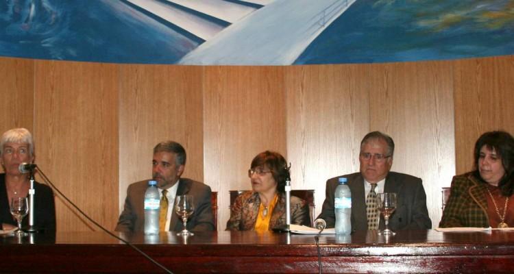 Mónica Pinto, Juan Carlos Sainz Borgo, Lilian del Castillo y Juan Antonio Travieso