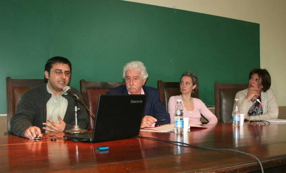 Claudio Crespini, Juan Segundo Pegoraro, Paola Calcagno y Susana Slamovits