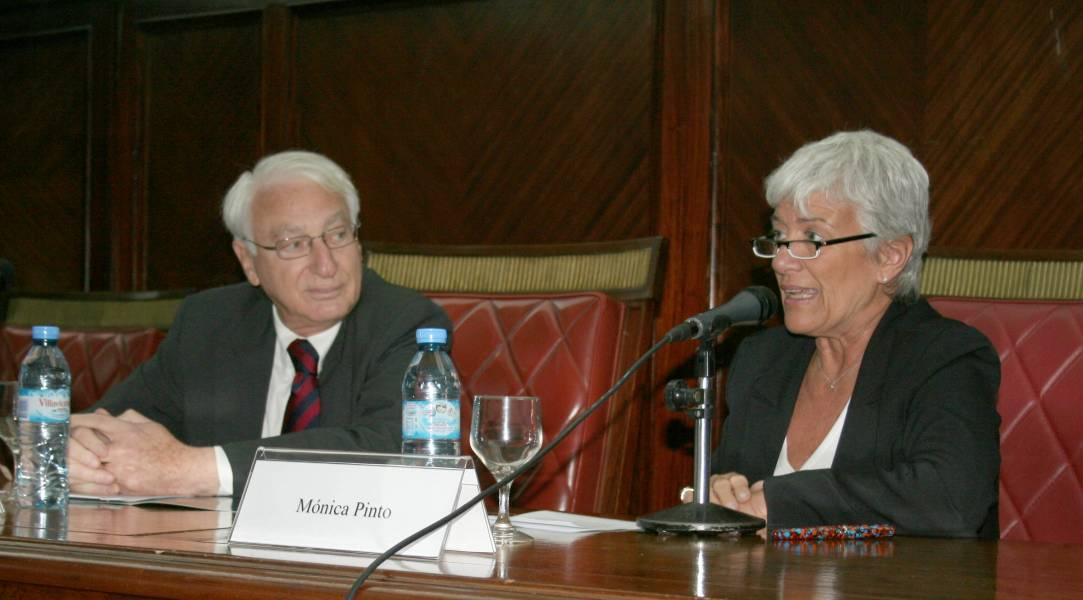 Michel Troper y Mónica Pinto