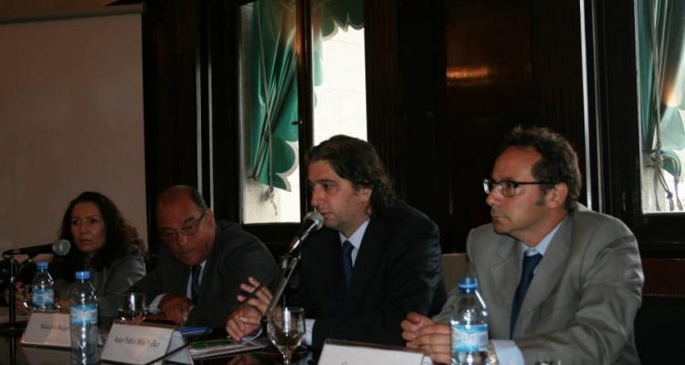 Cristina Caamaño, Marcelo Buigo, Juan Pablo Mas Velez y Gustavo Letner