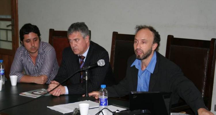 Leandro Abel Martínez, Luis Tonelli y Fabián Bosoer