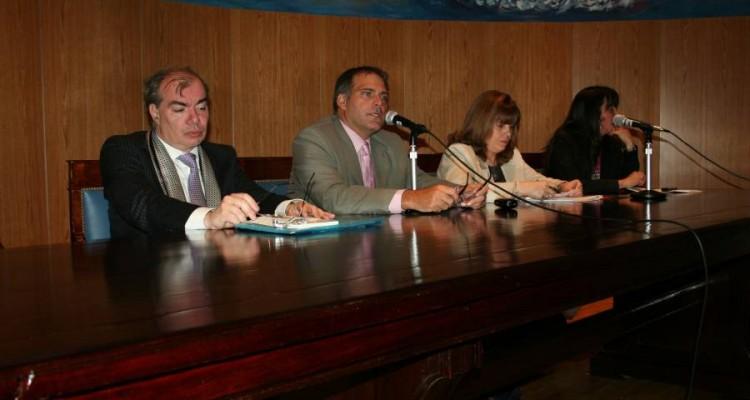 Walter Carnota, Calogero Pizzolo, Sandra C. Negro y Andrea Mensa González