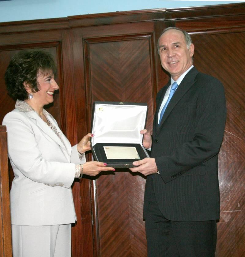 El Presidente de la Corte Suprema de Justicia de la Nación, Dr. Ricardo L. Lorenzetti, recibe el Premio Derechos Humanos 2010