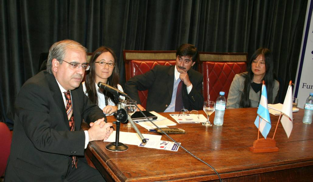 Daniel H. Obligado, María Verónica Yamamoto, Julián H. Langevin y Mirta Matsunoshita
