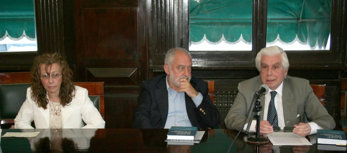 Liliana Hebe Litterio, Mario Ackerman y Carlos A. Etala