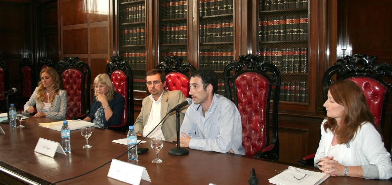 Patricia Colombo, Eleonora Devoto, Axel López, Leandro Halperin y María A Ventresca