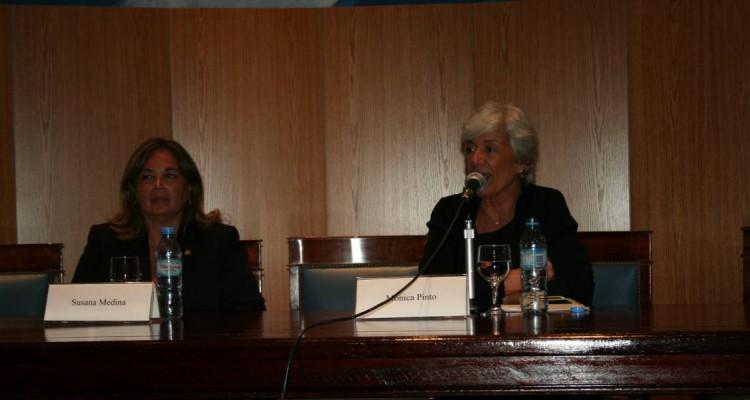 Susana Medina de Rizzo y Mónica Pinto